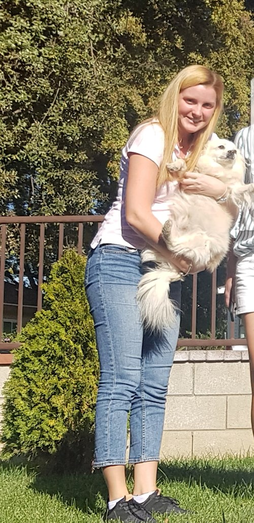 Claudia- petsitter Timișoara or Pet nanny for dogs cats