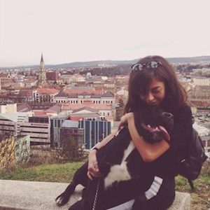 Alisa- petsitter Cluj-Napoca or Pet Nanny for Dogs Cats